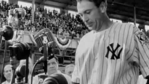 Thumbnail for entry Lou Gehrig's Speech