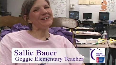 Thumbnail for entry Relay For Life: Sallie Bauer