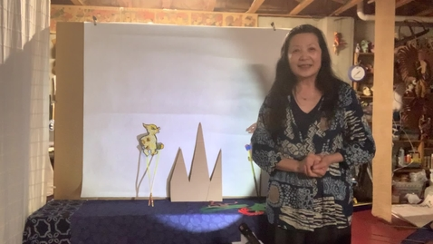 Thumbnail for entry 4thGr Chinese ShadowPuppet Theater T.HuaHua Lesson 11