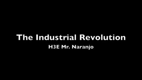 Thumbnail for entry Industrialization