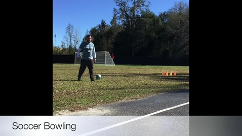 Thumbnail for entry Soccer bowling.mov