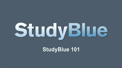 Thumbnail for entry The Skinny on StudyBlue