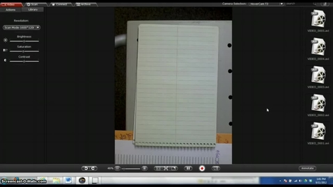 Thumbnail for entry Annotating Hovercam Images