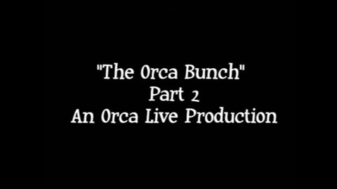 "Thumbnail for entry Orca Live's ""The Orca Bunch"" Part 2"