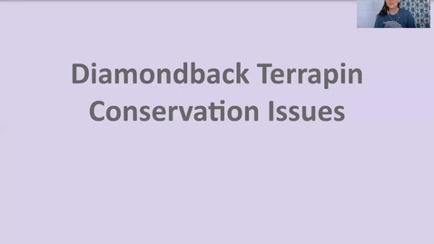Thumbnail for entry DBT conservation issues, solutions, ambassadors