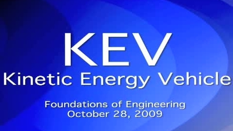 Thumbnail for entry KEV Fall 2009