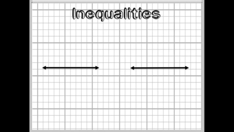 Thumbnail for entry Solving Compound Inequalities