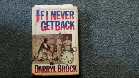 Thumbnail for entry Brock, Darryl - If I Never Get Back