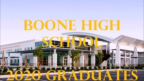 Thumbnail for entry 2020 Boone Senior Car Parade