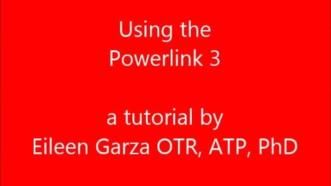 Thumbnail for entry Using the Powerlink 3 for swtich activities.