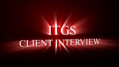 Thumbnail for entry Jose Balmaceda Client Interview