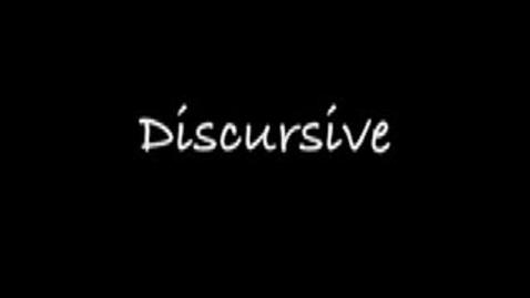 Thumbnail for entry discursive--Brainy Flix vocab contest