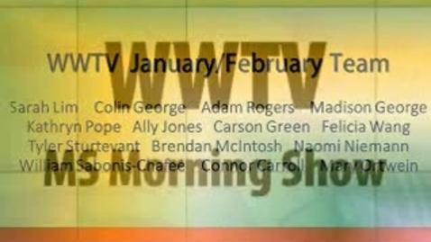 Thumbnail for entry WWTV February 23, 2015 Monday