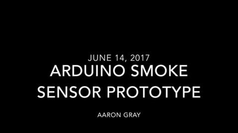 Thumbnail for entry Smoke Detecting Using Arduino