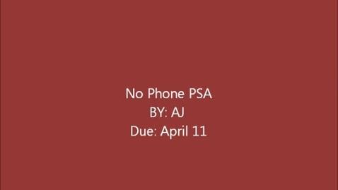 Thumbnail for entry PSA_AP