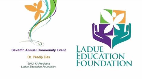 Thumbnail for entry LEF Breakfast - Dr. Pradip Das