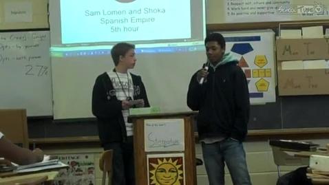 Thumbnail for entry Sam and Shaka