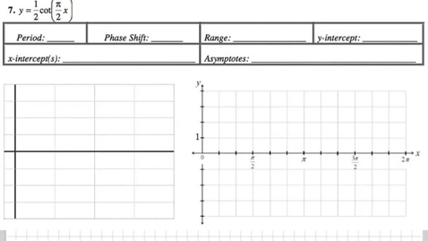 Thumbnail for entry Graphing Tangent Packet 7