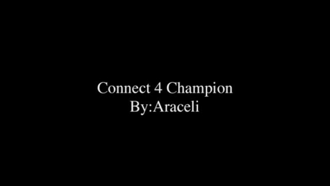 Thumbnail for entry Connect 4 Champion