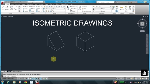 Thumbnail for entry AutoCAD LESSON 5A