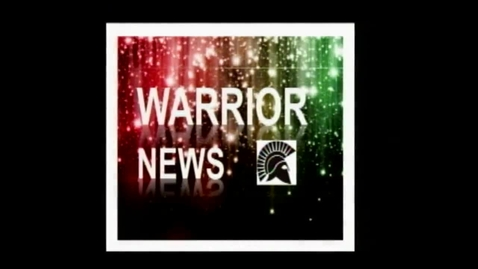 Thumbnail for entry Warrior News 9/27/13