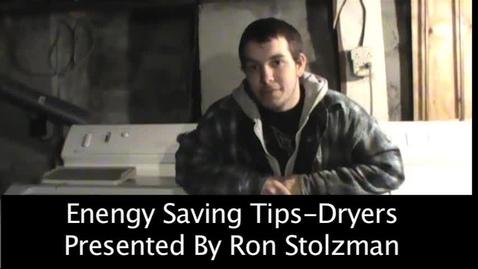 Thumbnail for entry Energy Savings (Dryer)