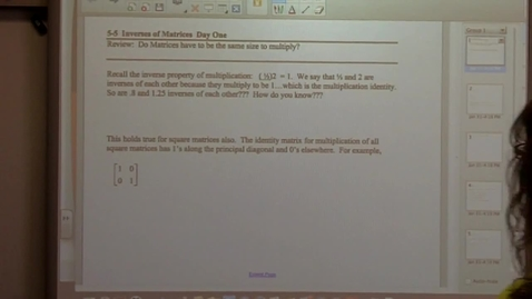 Thumbnail for entry College Algebra Section 5-5 day one