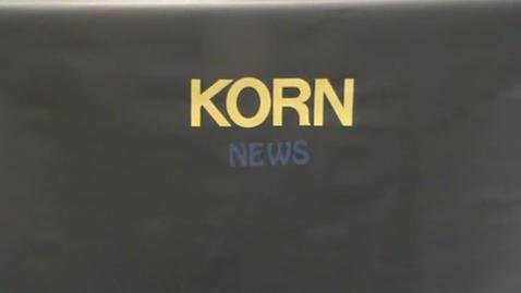 Thumbnail for entry KORN News September 24, 2015
