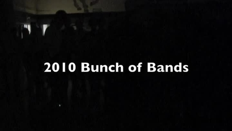 Thumbnail for entry Bunch of Bands Video Story