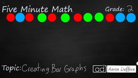 Thumbnail for entry 2nd Grade Math Creating Bar Graphs