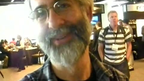 Thumbnail for entry Dan Bricklin explains the social spreadsheet