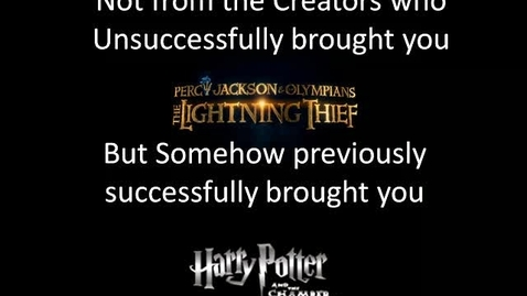 Thumbnail for entry Percy Jackson The Last Olympian Trailer