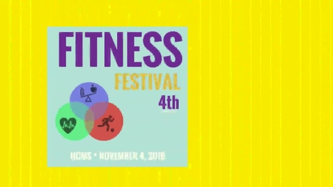 Thumbnail for entry Fit Fest About Nov 4, 2016
