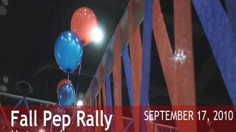 Thumbnail for entry [2010-11] Fall Pep Rally