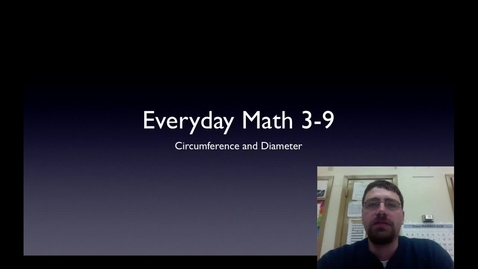 Thumbnail for entry 3-9 Diameter and Line Plot