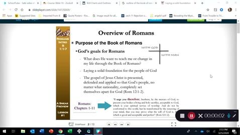 Thumbnail for entry ROMANS: Part 2