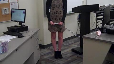 Thumbnail for entry Brooke Grissom Speech 1