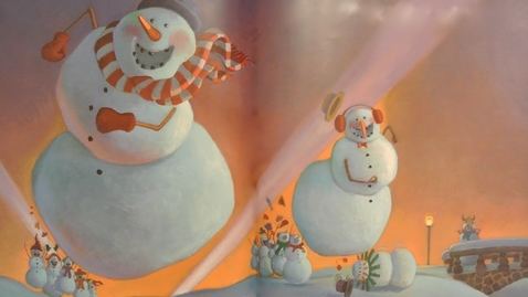 Thumbnail for entry SNOWMEN AT NIGHT - Read Aloud w/ Music & EFX