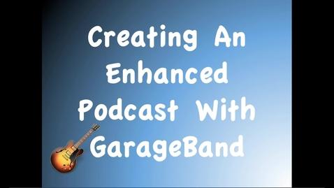 Thumbnail for entry GarageBand - Uploading to Urban Planet Website