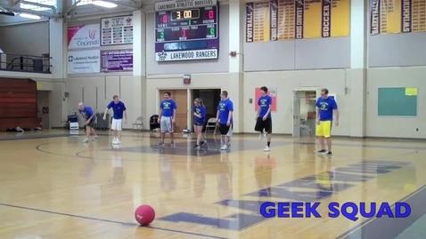 Thumbnail for entry LHS Dodgeball Team vs. Best Buy's Geek Squad