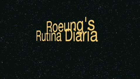 Thumbnail for entry Vichhay Roeung's Routina Diaria
