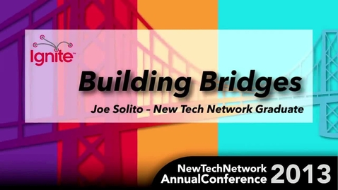 "Thumbnail for entry NTAC 2013 Presentation ""Build Bridges Not Just Levees"""