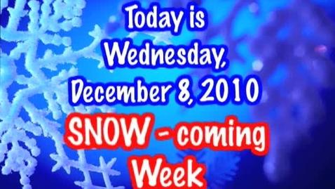 Thumbnail for entry Wednesday, December 8, 2010