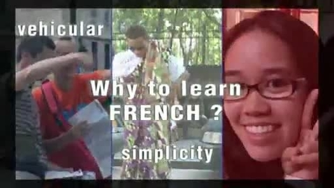 Thumbnail for entry Why Study & Learn to Speak French?