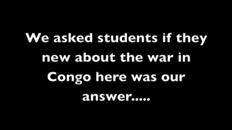 Thumbnail for entry Congo PSA: Physical Therapy/War children