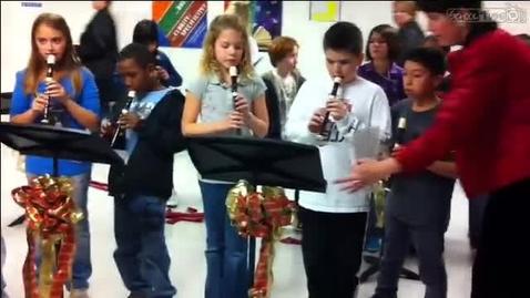 Thumbnail for entry Gordon 5th Grade Recorder Concert