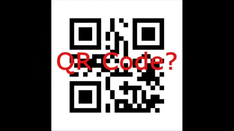 Thumbnail for entry QR Code In School Hunt