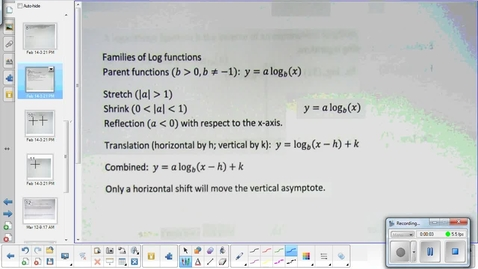 Thumbnail for entry Logarithm transformations lesson   3-12-15