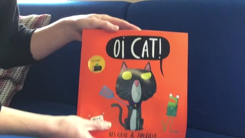 Thumbnail for entry Mrs Summerfield reads Oi Cat by Kes Gray
