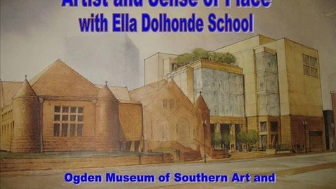 Thumbnail for entry Artist and Sense of Place with Dolhonde School